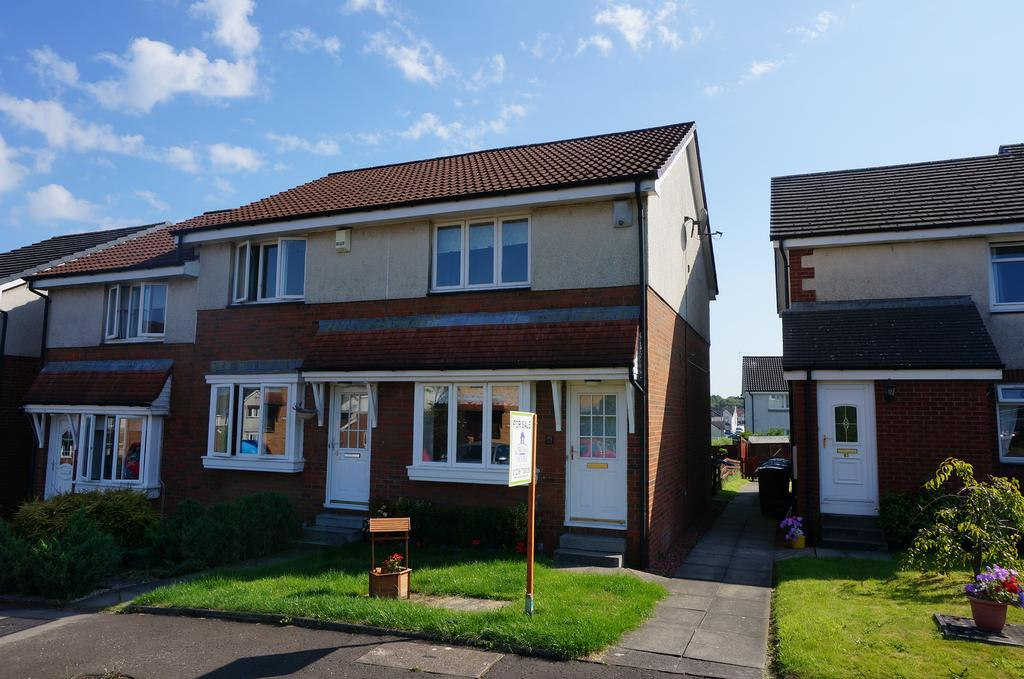 2 Bedrooms End Of Terrace House for sale in Lochwood Loan, Moodiesburn G69
