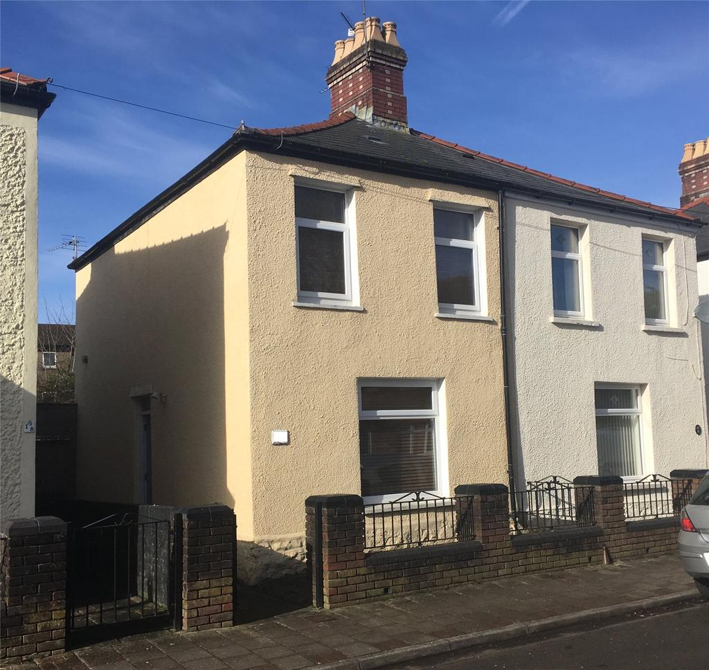 2 Bedrooms Semi Detached House for sale in Lewis Street, Riverside, Cardiff, CF11