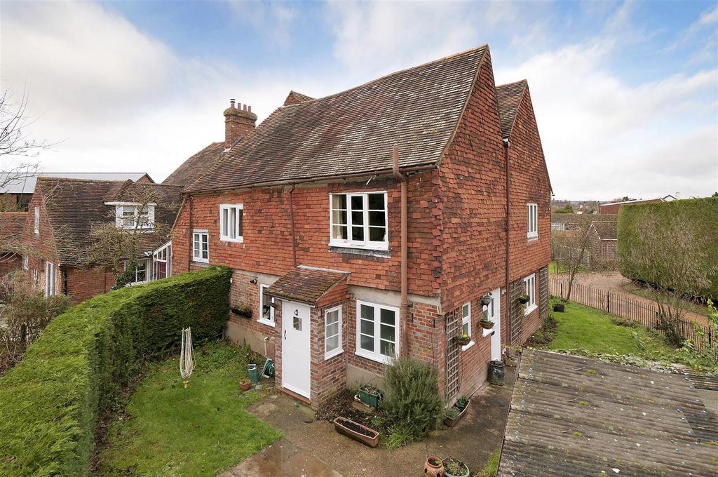 2 Bedrooms Semi Detached House for sale in Old Road, East Peckham, Tonbridge