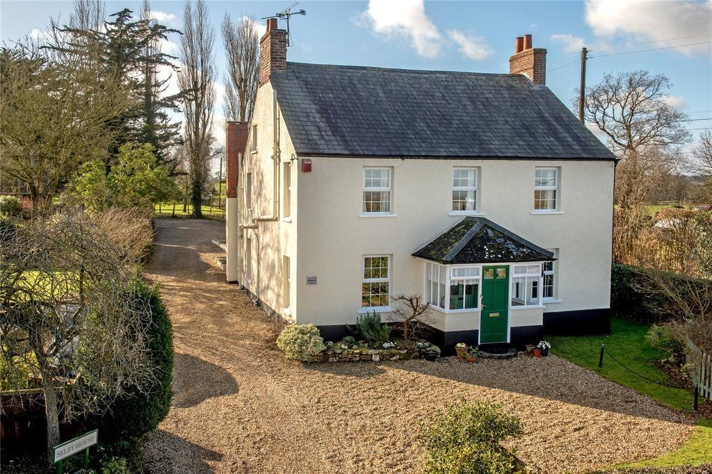 6 Bedrooms Detached House for sale in Sampford Arundel, Wellington, Somerset
