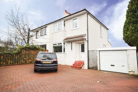 3 bedroom semi-detached house for sale - Rockmount Avenue, Thornliebank, Glasgow, G46 7BU