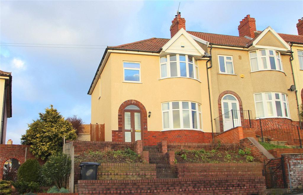 3 Bedrooms End Of Terrace House for sale in Redcatch Road, Knowle, Brisrtol, BS3