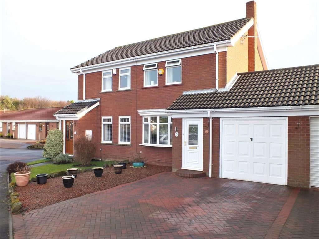 2 Bedrooms Semi Detached House for sale in Blagdon Drive, Blyth