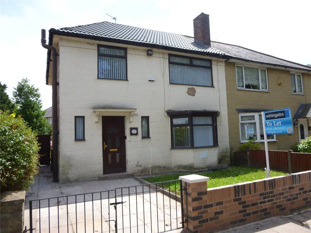 3 Bedrooms Semi Detached House for sale in Hewitson Road, Liverpool, Merseyside, L13