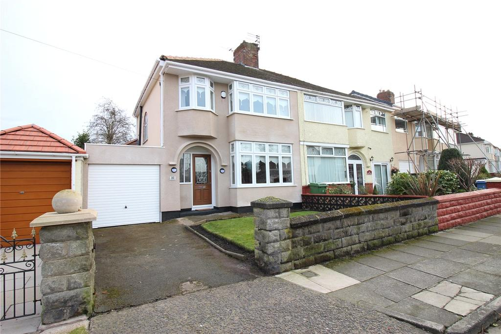 3 Bedrooms Semi Detached House for sale in Almonds Grove, Liverpool, Merseyside, L12
