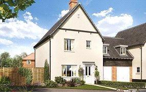 3 Bedrooms Link Detached House for sale in Birch Gate, Silfield Road, Wymondham, Norfolk, NR18