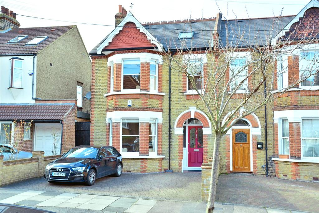 4 Bedrooms Semi Detached House for sale in Cleanthus Road, Shooters Hill, London, SE18