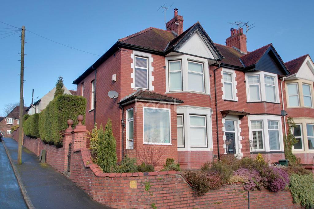 3 Bedrooms End Of Terrace House for sale in Southville Road, Newport
