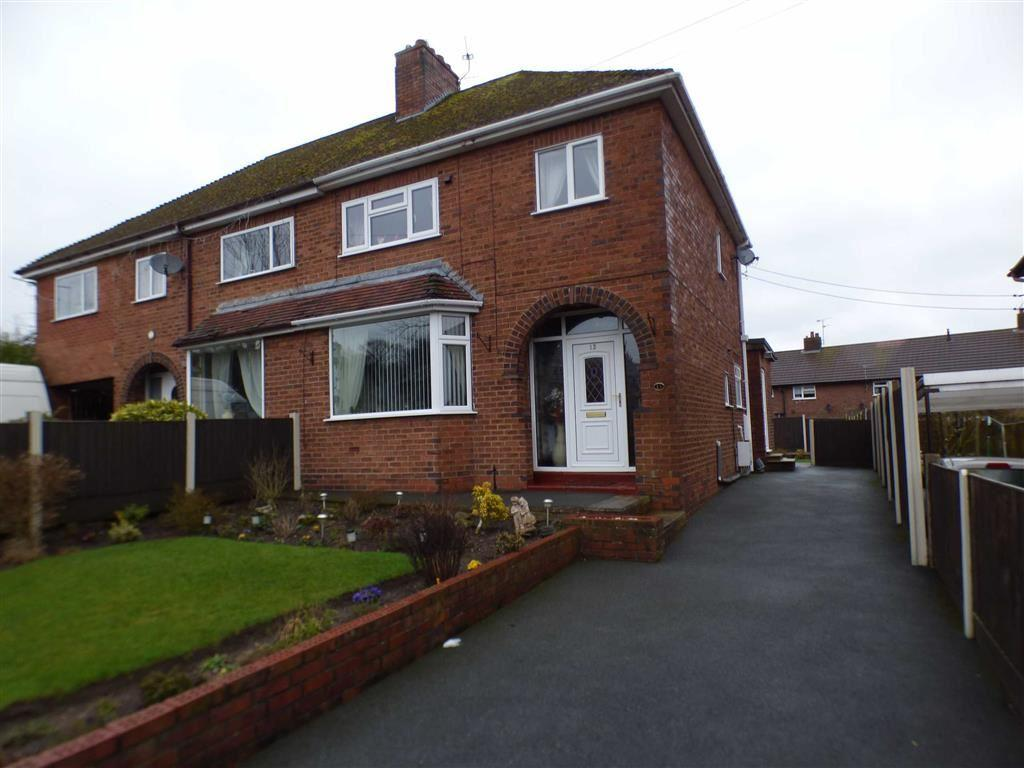 3 Bedrooms Semi Detached House for sale in 13, Harbourne Road, Cheadle