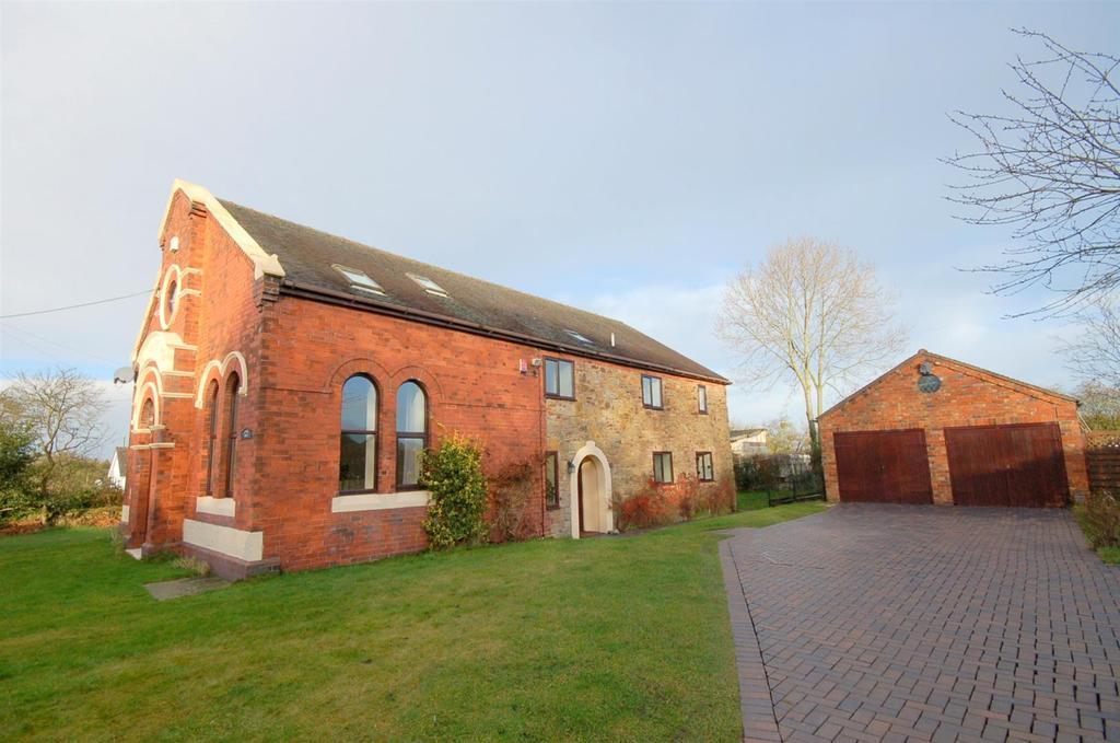 5 Bedrooms Detached House for sale in Shraleybrook Road, Halmer End