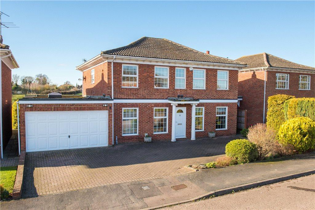 5 Bedrooms Detached House for sale in Barnett Way, Bierton, Aylesbury, Buckinghamshire