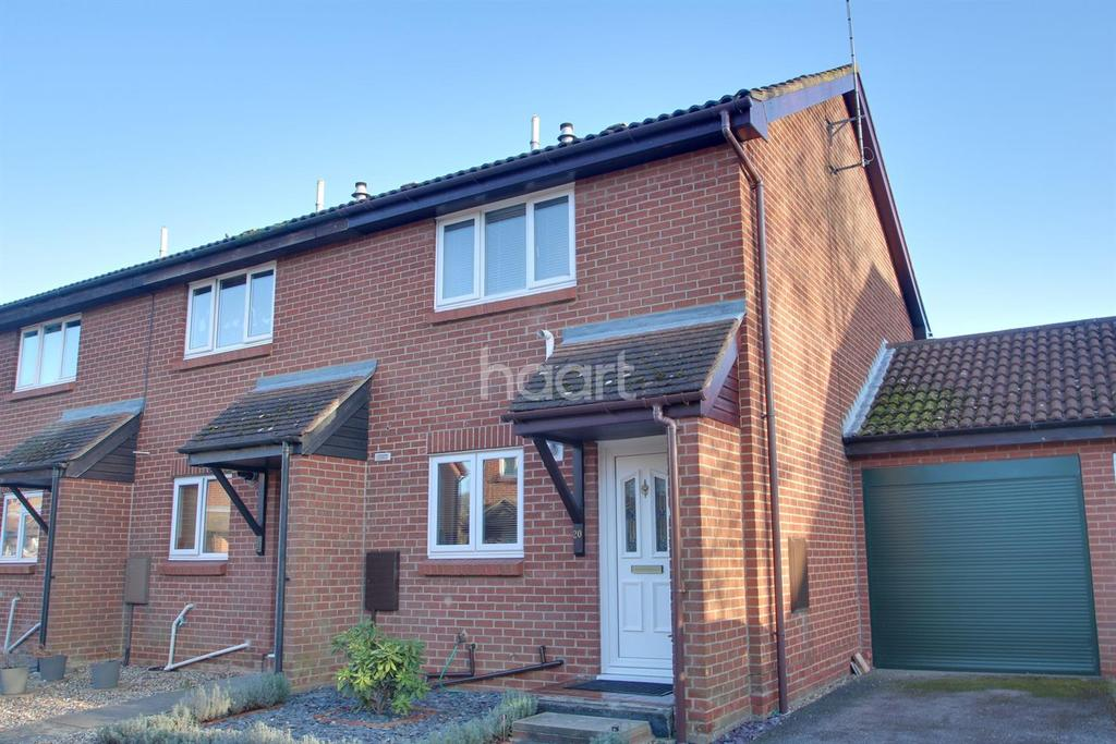 2 Bedrooms End Of Terrace House for sale in Sutton Close