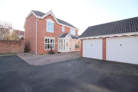4 bedroom detached house for sale - St. Cuthberts Way, Holystone, Newcastle Upon Tyne