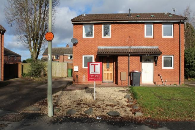 2 Bedrooms Semi Detached House for sale in 23 Meadow View Close, Newport, Shropshire, TF10 7NN
