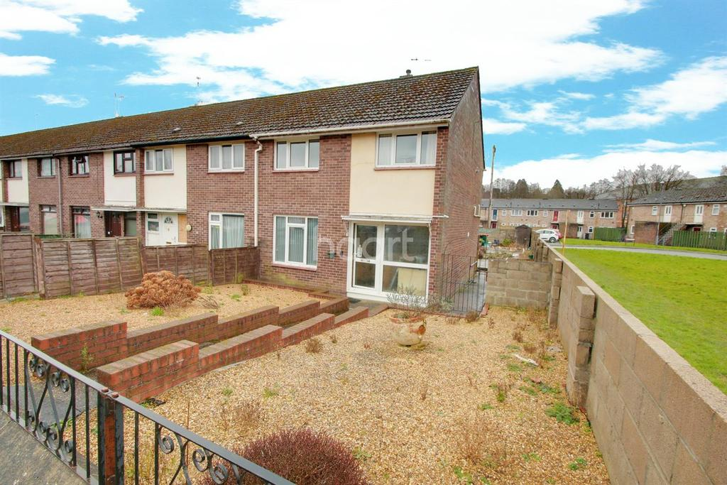 3 Bedrooms End Of Terrace House for sale in Monnow Way, Bettws, Newport.