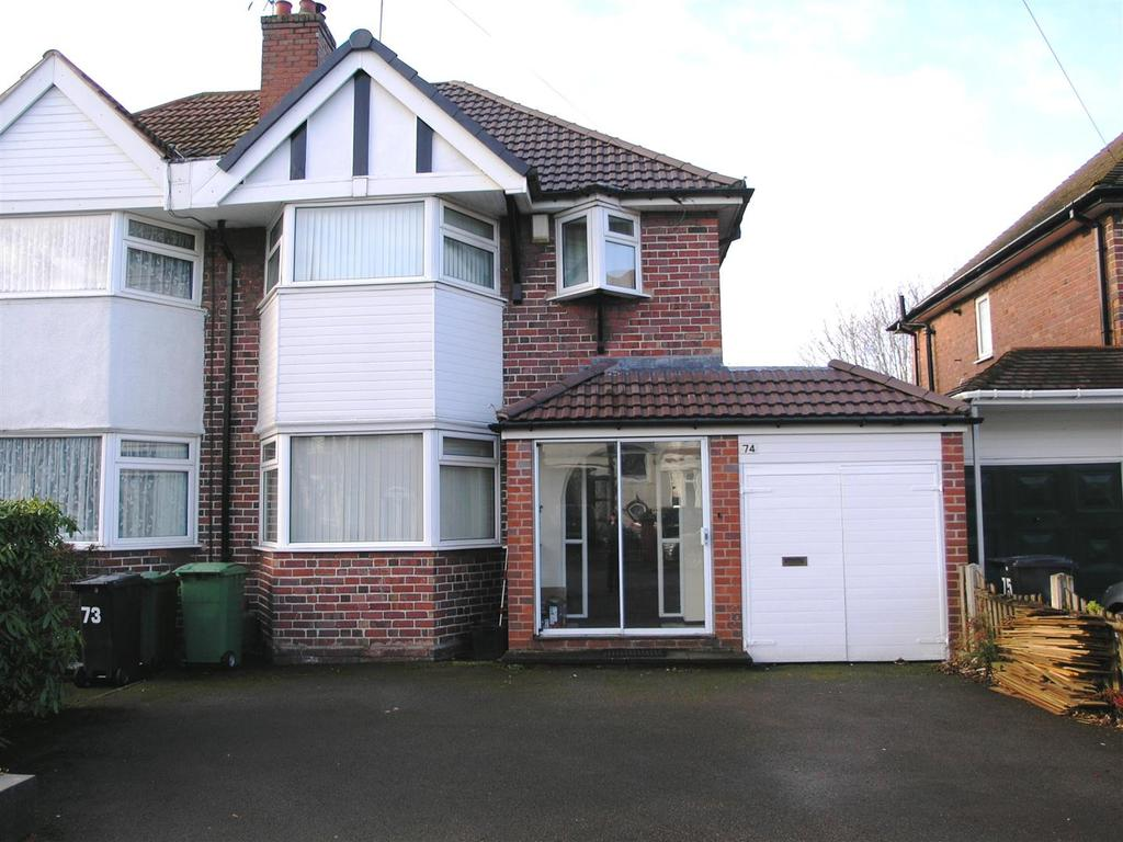 3 Bedrooms Semi Detached House for sale in Goodrest Avenue, Halesowen