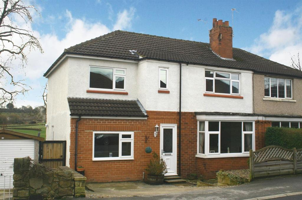 4 Bedrooms Semi Detached House for sale in Moorland Crescent, Menston, Ilkley