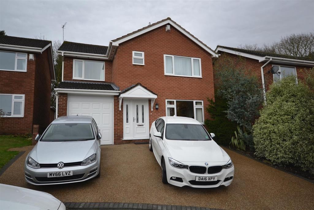 4 Bedrooms Detached House for sale in Hillwood Road, Madeley Heath, Crewe