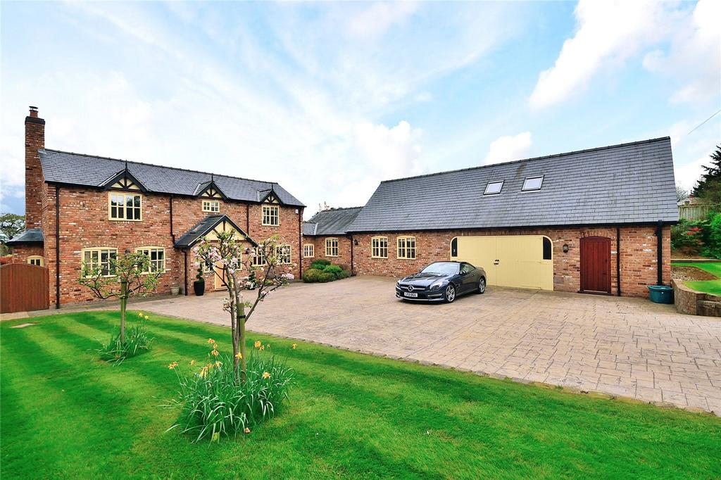 6 Bedrooms Detached House for sale in Holywell Lane, Clutton, Chester, CH3