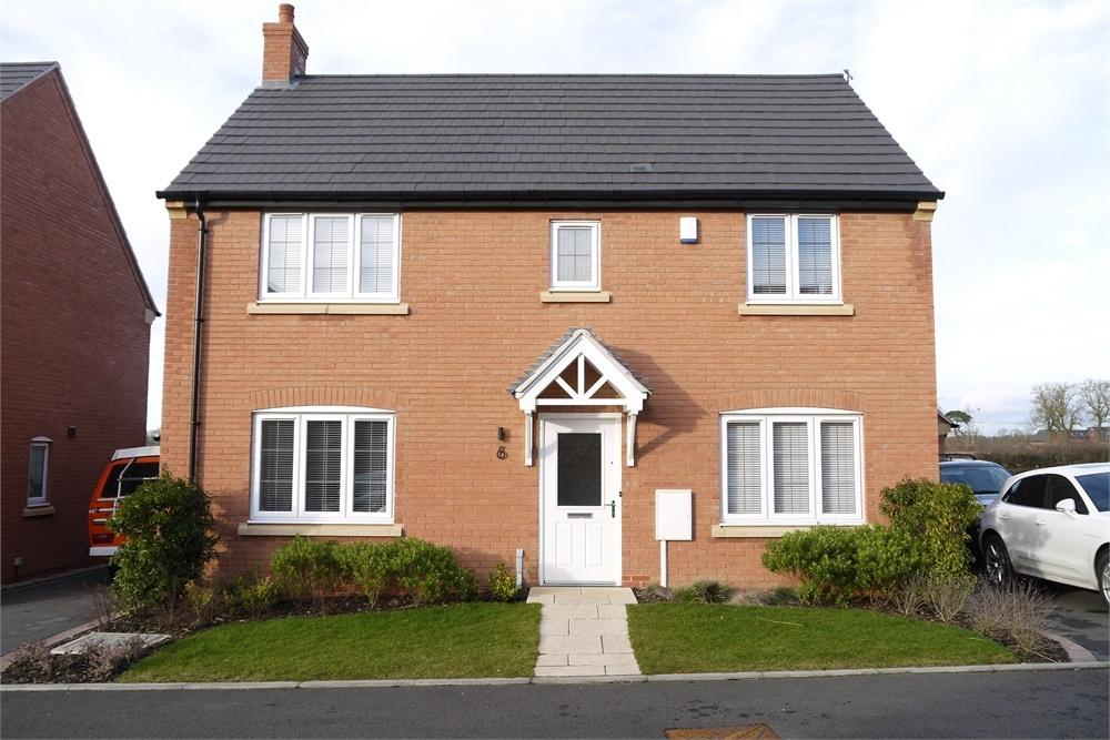4 Bedrooms Detached House for sale in Buttercup Close, Lutterworth, Leicestershire