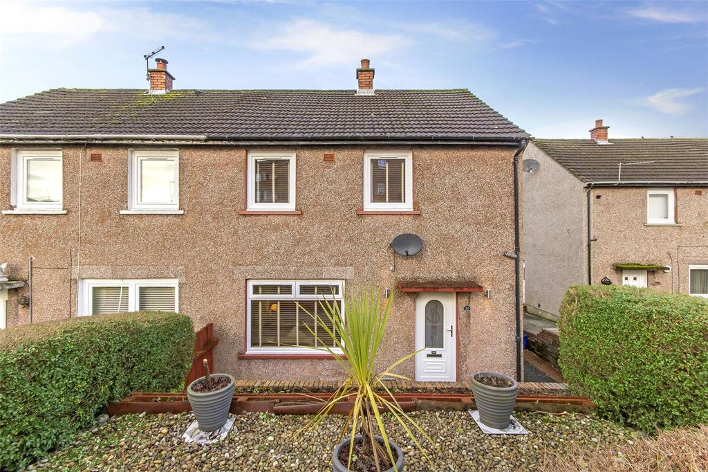 2 Bedrooms Semi Detached House for sale in 20 Rowantree Avenue, Rutherglen, Glasgow, G73