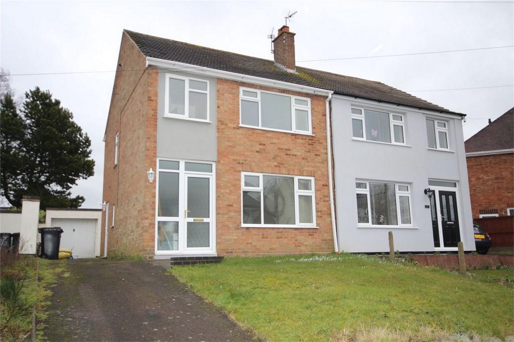3 Bedrooms Semi Detached House for sale in Barnacle Lane, Bulkington, BEDWORTH, Warwickshire