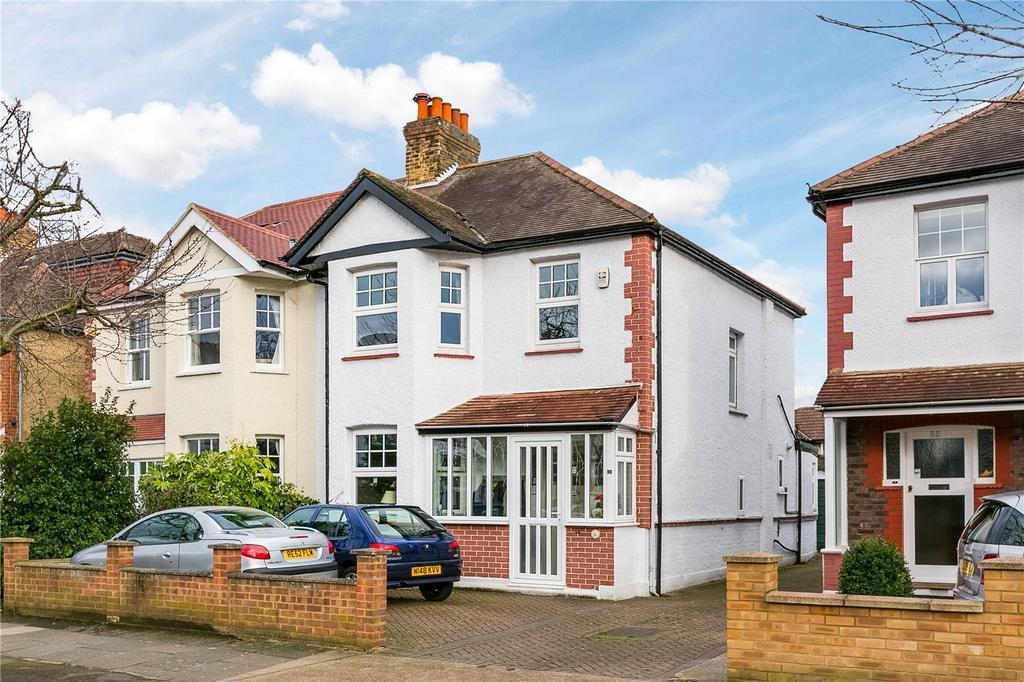 3 Bedrooms Semi Detached House for sale in Marksbury Avenue, Kew, Surrey