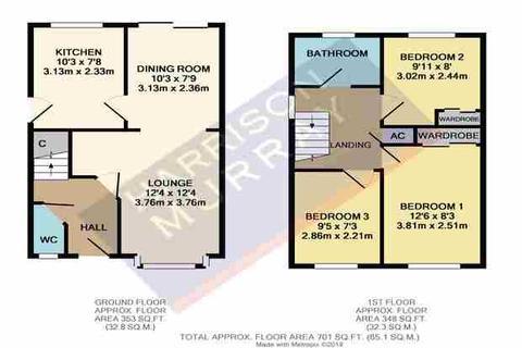 3 bedroom property for sale - Rea Close, East Hunsbury, Northampton, NN4