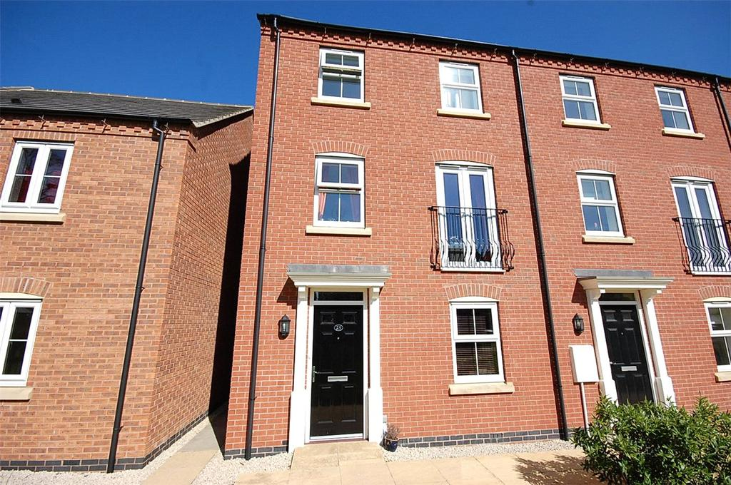 4 Bedrooms Town House for sale in Montrose Grove, Sleaford, Lincolnshire, NG34
