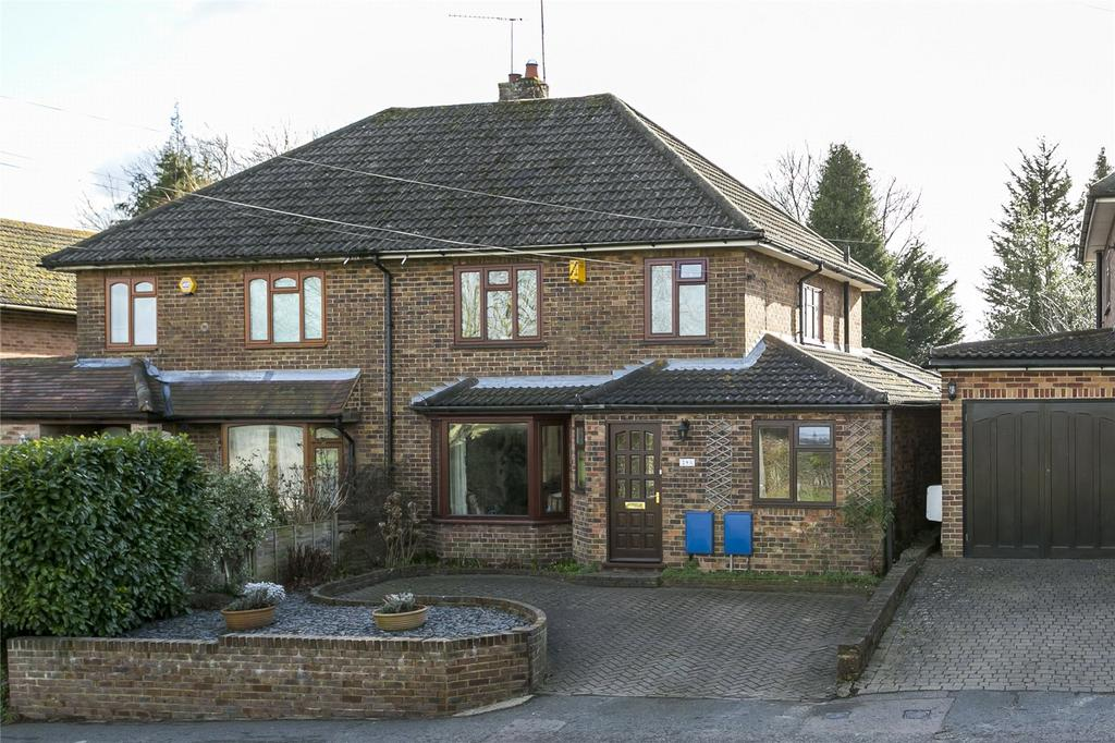 4 Bedrooms Semi Detached House for sale in Pilgrims Way West, Otford, Sevenoaks, Kent