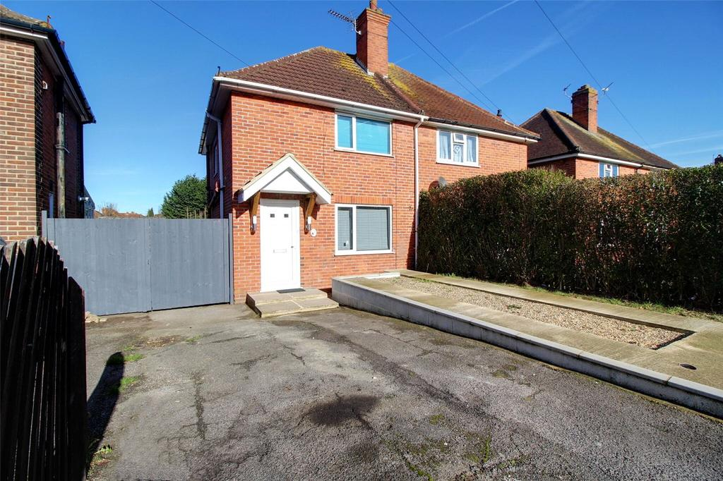 2 Bedrooms Semi Detached House for sale in Stockton Road, Reading, Berkshire, RG2