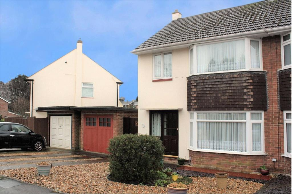 3 Bedrooms Semi Detached House for sale in Tennyson Road, Woodley, Reading, Berkshire, RG5