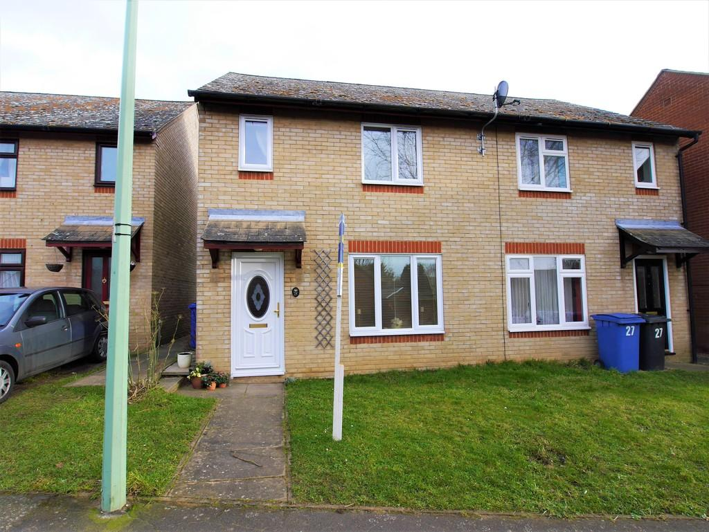 3 Bedrooms Semi Detached House for sale in 25 Alabaster Close, Hadleigh, Ipswich, Suffolk, IP75