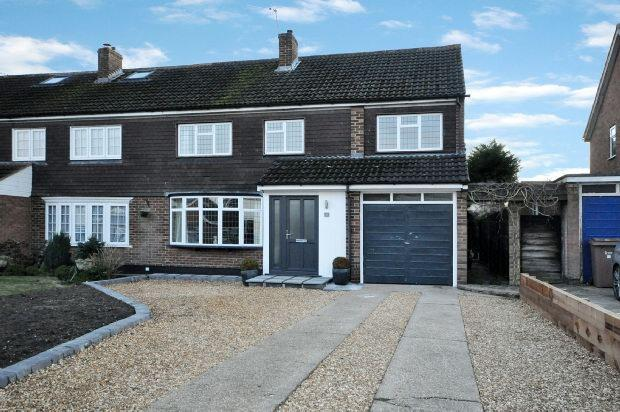 4 Bedrooms Semi Detached House for sale in Cornfield Road, Woodley, Reading,