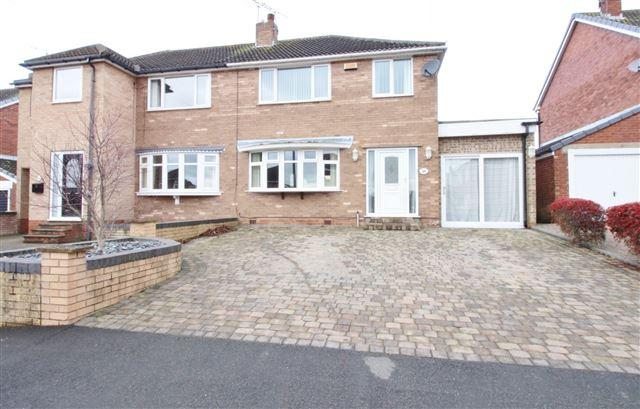 3 Bedrooms Semi Detached House for sale in Elm Tree Close , North Anston, Sheffield, S25 4FG