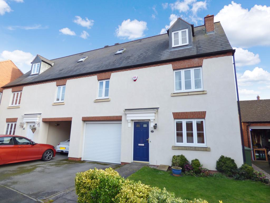 3 Bedrooms Semi Detached House for sale in Longfellow Road, Stratford-Upon-Avon