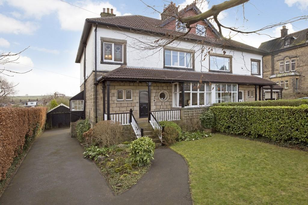5 Bedrooms Semi Detached House for sale in Cleasby Road, Menston