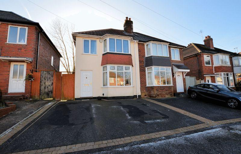 3 Bedrooms Semi Detached House for sale in Westbourne Road, Halesowen