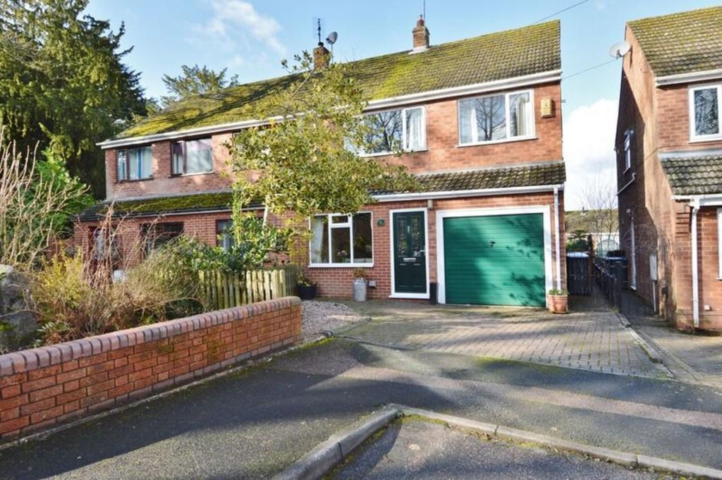 3 Bedrooms Semi Detached House for sale in Rectory Gardens, Armitage