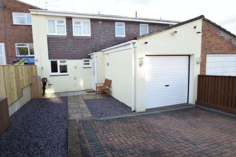 3 Bedrooms Semi Detached House for sale in Trostrey, Hollybush, Cwmbran