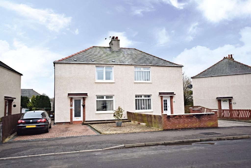 3 Bedrooms Semi Detached House for sale in Weston Avenue , Annbank, Ayr , South Ayrshire, KA6 5EQ
