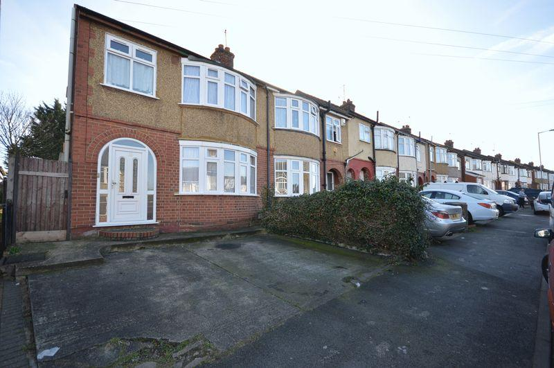 3 Bedrooms End Of Terrace House for sale in Blundell Road, Luton