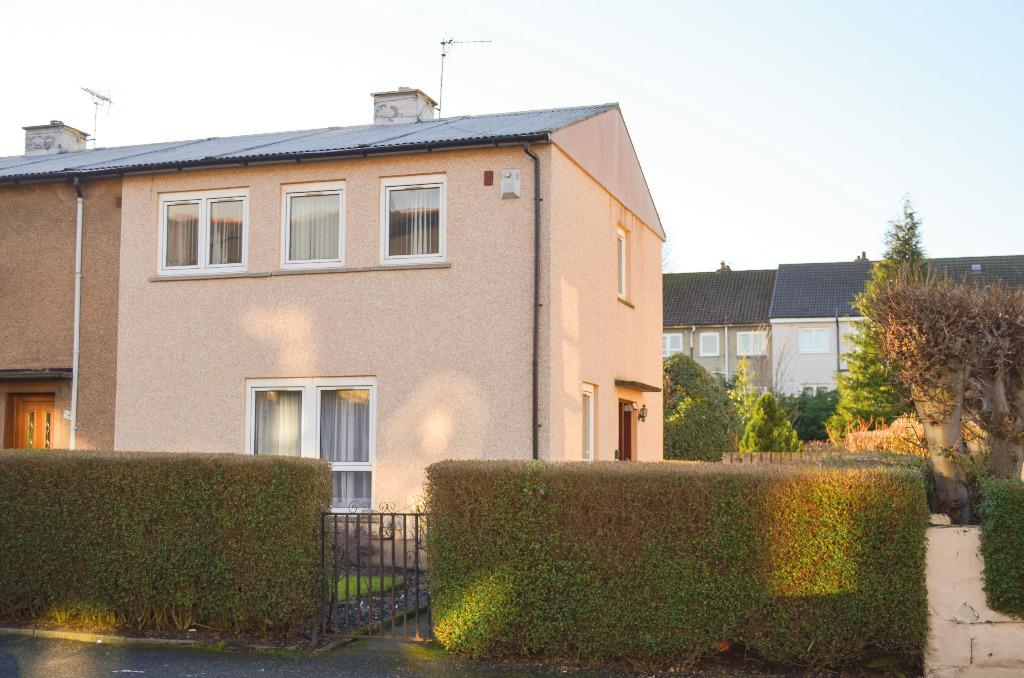 3 Bedrooms End Of Terrace House for sale in Lochlea Road, Newlands, Glasgow, G43 2YB