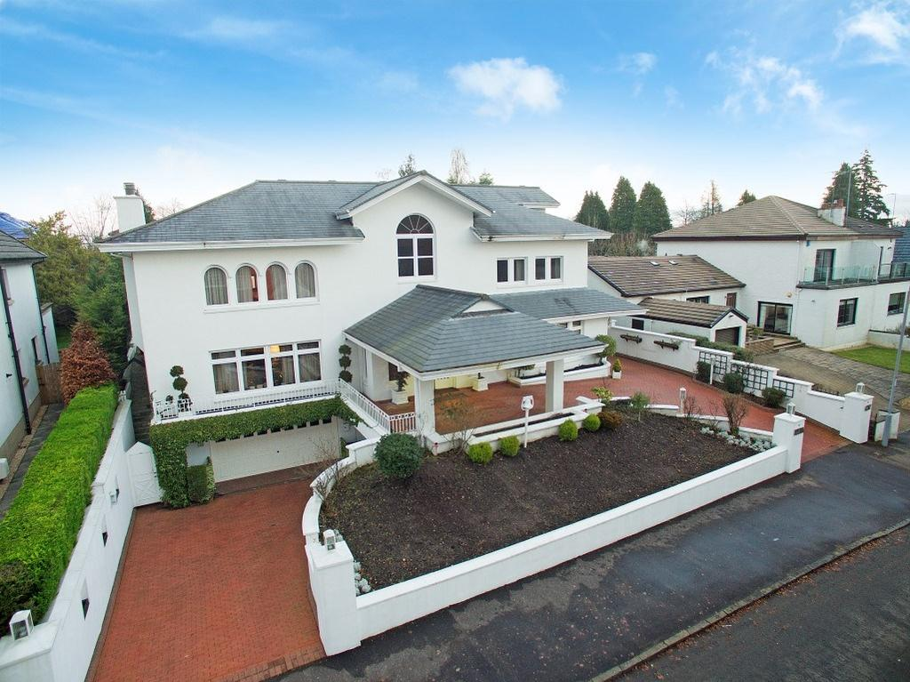 5 Bedrooms Detached Villa House for sale in Broomcroft Road, Newton Mearns, Glasgow, G77
