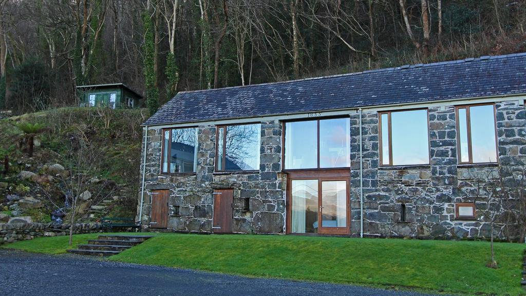 2 Bedrooms End Of Terrace House for sale in Arthog Hall Barns, Arthog, LL39