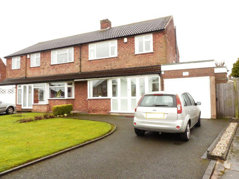 3 Bedrooms Semi Detached House for sale in Elmtree Road, Streetly