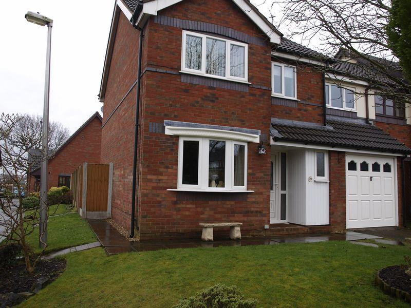 4 Bedrooms End Of Terrace House for sale in Townfield Court, Barnton, CW8 4UT