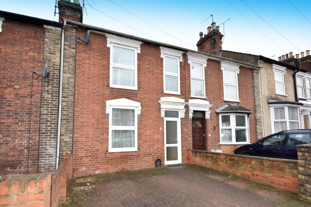 3 Bedrooms Terraced House for sale in Warwick Road, Ipswich, IP4 2QD