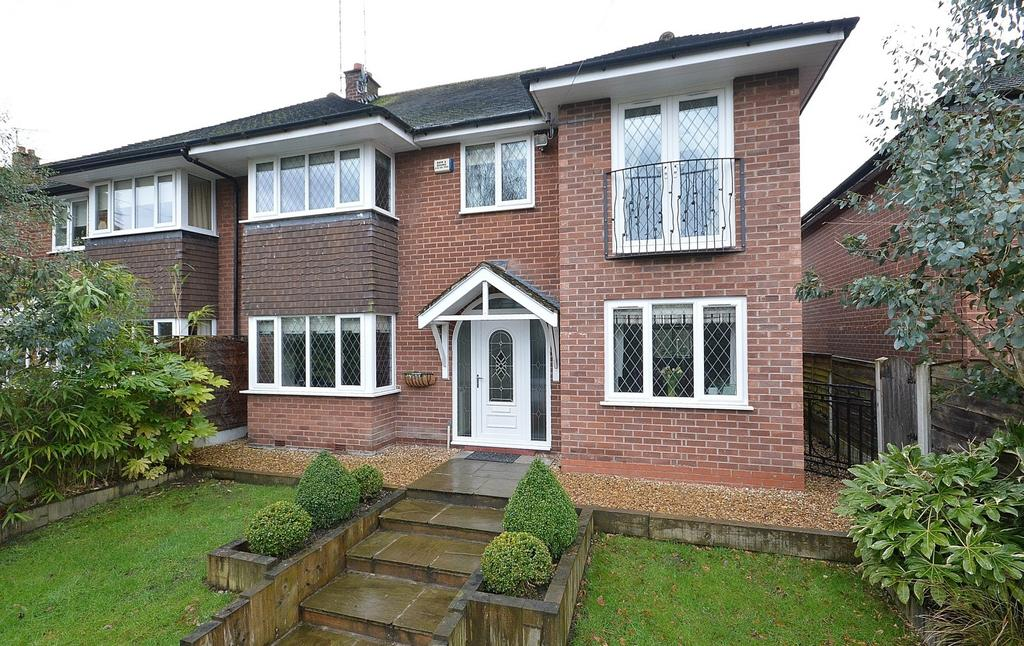 4 Bedrooms Semi Detached House for sale in Bunkers Hill, Romiley