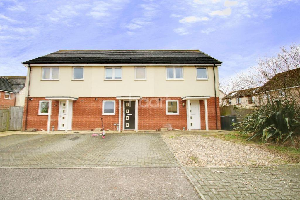 2 Bedrooms Semi Detached House for sale in Anson Road, Cambourne